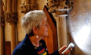 Jenny Alexander examines some ancient masons' marks.