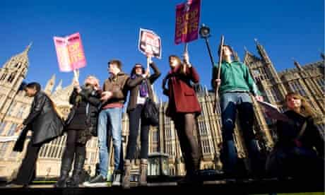 Students are dismayed in the proposed increases in tuition fees