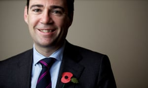 Andy Burnham, ready to do battle with the education secretary, Michael Gove