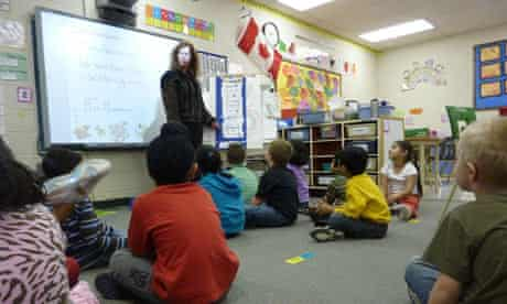 Pollard Meadows school in Edmonton. All children in Alberta are taught the same curriculum