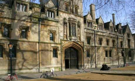 Oxford – and Cambridge – still draw many of their students from a privileged social base
