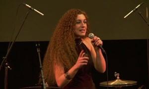 Chiara Ambrosio, Bright Club comedy night at UCL