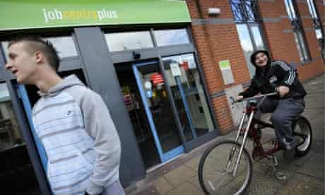 Unemployed young people in Doncaster