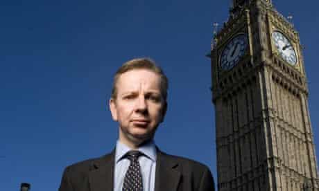 Shadow education secretary Michael Gove promises to free teachers from bureacracy