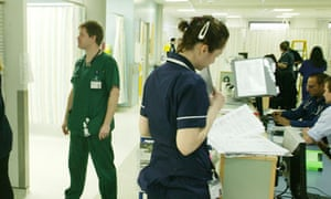 NHS deficits have seen calls to close some hospital casualty departments