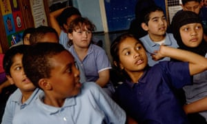 Children at Argyle primary school learn about climate change and the 10:10 initiative