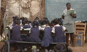 Despite the destruction, Haiti's schools have been resurrected and provide a haven for children