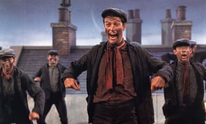 Chimney sweeps in Mary Poppins