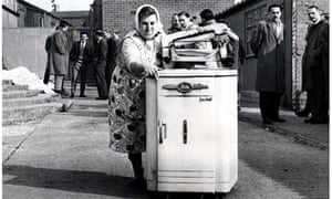 Engineers sought to solve the problem of 'walking' washing machines