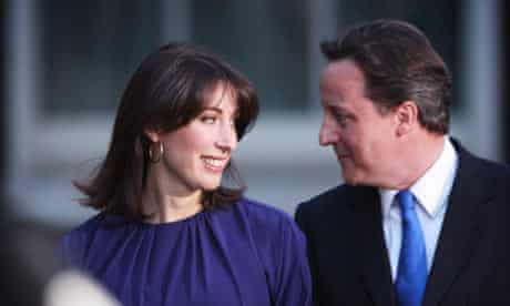The Camerons will have to decide where to send their children to school