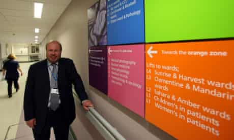 Sir David Varney, chair of Barking, Havering & Redbridge NHS Trust