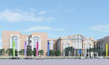 An artist's impression of the new Dubai campus of Heriot-Watt University