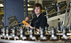 Gilly McIvor, an apprentice electrical engineer who work with Diageo