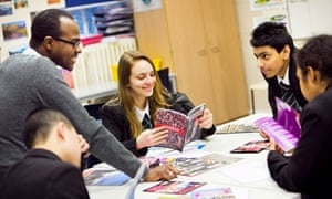 Pupils at Bethnal Green Technology College ponder their options for A-level – and university