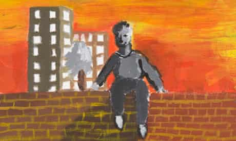 Artwork produced by young offenders in Feltham  during Inside Art