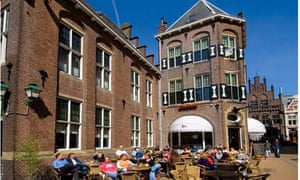 Groningen University in the Netherlands, where fees are typically much lower than in the UK