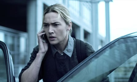 Kate Winslet in a scene from the film Contagion