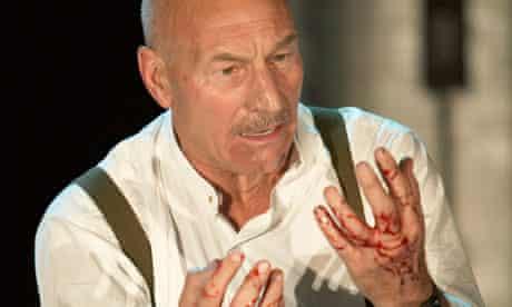 Patrick Stewart as Macbeth