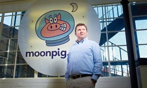 Founder of Moonpig Nick Jenkins