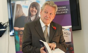 Sir Bruce Liddington, director general of E-Act, who appears to be rowing back from his prediction