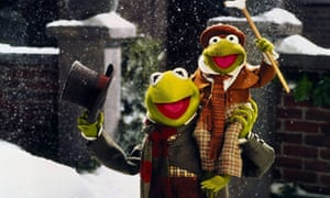 A scene from the film A Muppet Christmas Carol