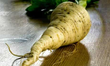 A parsnip was involved in one case study where a patient complained of assault by vegetable