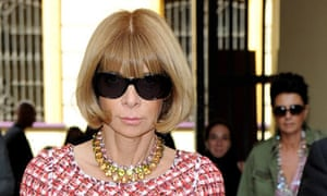 Anna Wintour, Vogue editor, leads the way in celebrity sunglass-wearing