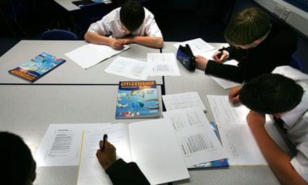 GCSE Citizenship class