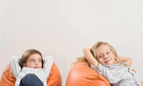 Comfy beanbags are one of the things children would like to have at school