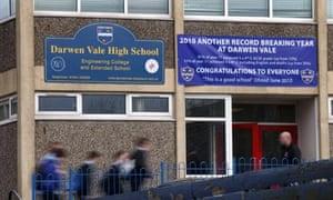 Darwen Vale where teachers will strike