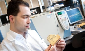 Kostas Gkatzionis is undertaking research on blue cheese at Northampton University