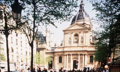 The Sorbonne in Paris: will European universities overtake British ones?