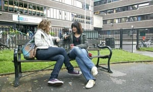 Foreign students in London. UK universities can charge higher fees for overseas students