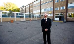 Colin Hall, headteacher of Holland Park comprehensive