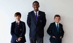 Some pupils at Crown Woods college like the small-school model, but not everyone likes the streaming