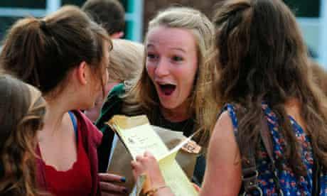 GCSE results 2011