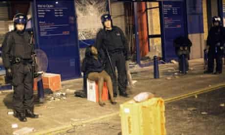 Brixton riots 2011