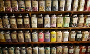 Sweets in sweetshop