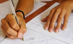 Exams make our hands sore, say students | Education | The