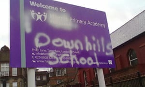 Downhills school came out of special measures when it reopened as a Harris academy