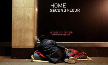 The number of rough sleepers in the UK has risen - and this is just the tip of the homeless iceberg