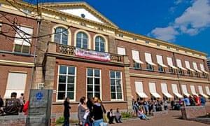 Law building at Leiden University