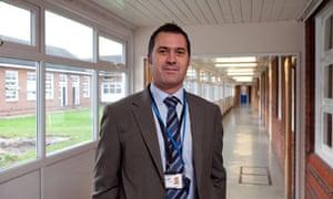 Francois Van Rensburg, headteacher at the Warren School, Romford