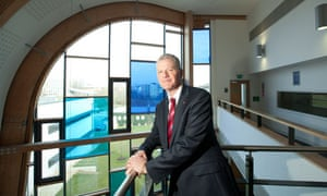 David Bell: from Glasgow primary school teacher to vice-chancellor of Reading University