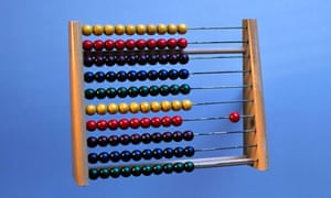 The abacus, one of the first maths teaching methods