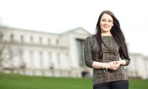 Georgia Thresh, postgraduate officer at Nottingham University
