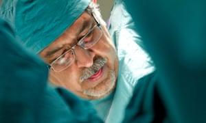 Surgeon Mohammaed Jawad in Saving Face film