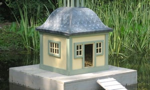 'Stockholm' duck house which Conservative opposition MP Sir Peter Viggers claimed as expenses