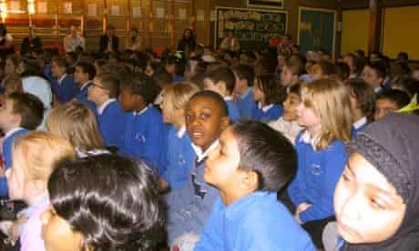 Gascoigne primary, according to the latest official statistics, is the biggest primary in England