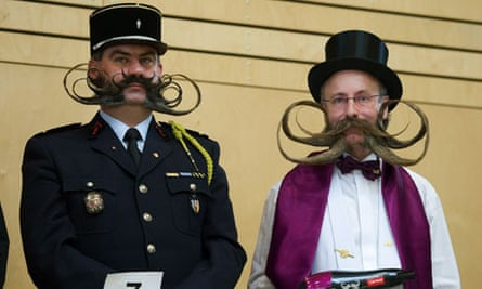 The European Beard and Moustache Championships in Leogang, in Austria
